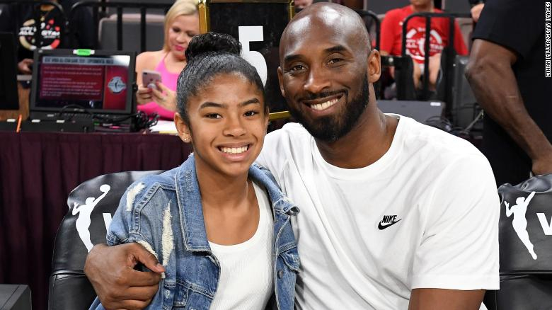 Kobe Bryant y su hija Gianna. Foto: Getty Images
